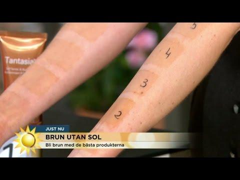 hur brun blir man av solarium