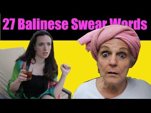 27 Balinese Swear Words