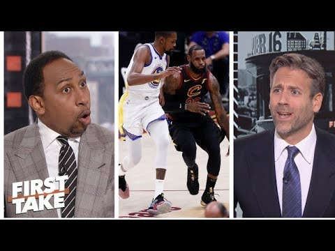 download Stephen A., Max get heated on LeBron James vs. Kevin Durant | First Take | ESPN