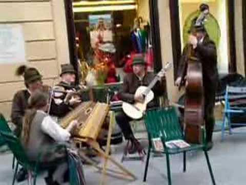 Austrian Folk Band in Salzburg