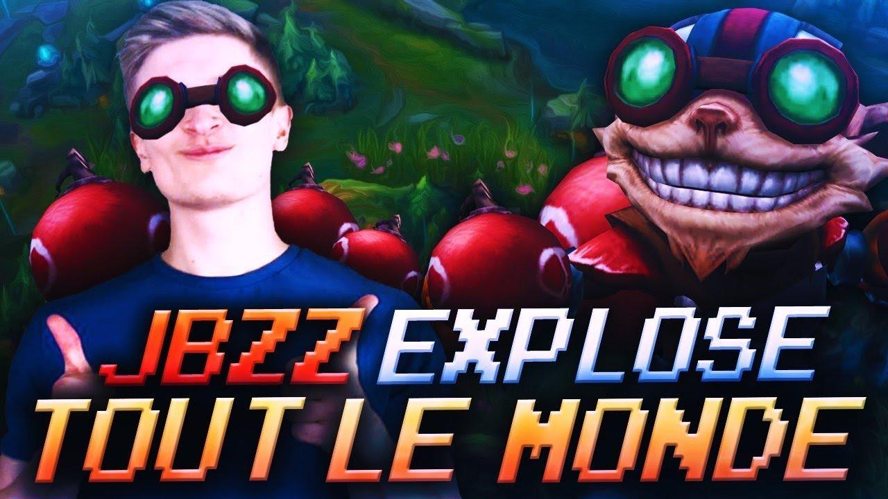 JBZZ EXPLOSE TOUT LE MONDE AVEC LE BOMBEUR FOU
