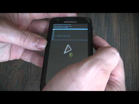 How To Hard Reset A Motorola Atrix 4G Smartphone