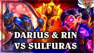 Darius Crowley and Rin VS Quest Warrior ~ The Witchwood ~ Hearthstone