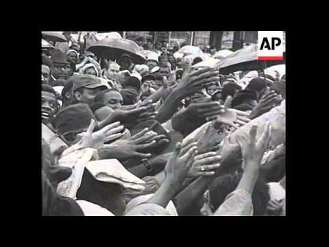 USA - Anti-Democrat demonstrations, Martin Luther King speech And Funeral