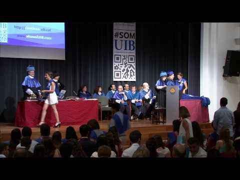 Facultat de Ciències. Cerimònia de graduació de l'any acadèmic 2014-15
