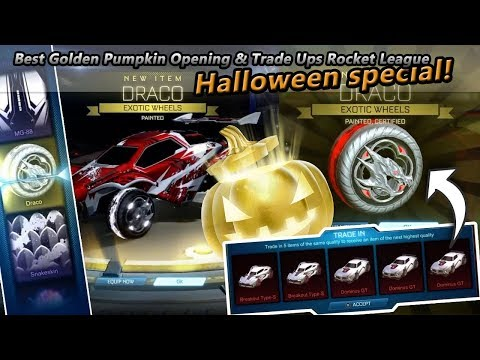 Best Golden Pumpkin Opening & Trade Ups Rocket League (Halloween Special) thumbnail