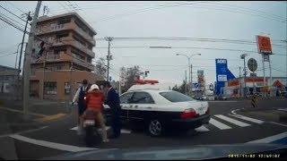 【ドラレコ】危険運転のDQNが怒り散らす動画集part1 thumbnail