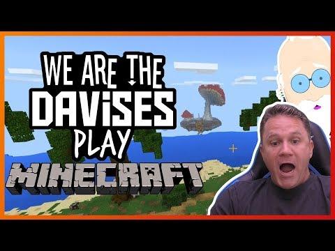 Mushroom Island | Minecraft EP-6 | We Are The Davises Gaming