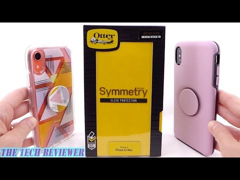 An OtterBox with a Built-in PopGrip?? Otter + Pop Symmetry for iPhone Xs Max!