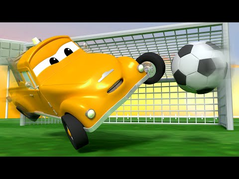 Fotbalový zápas - Odtahové auto Tom ve Městě Aut 🚗 Animáky o autech