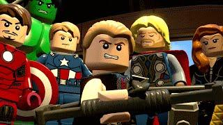 LEGO Avengers / LEGO Marvel Vingadores #07 - DEUS FRACO (Gameplay PT-BR Português)