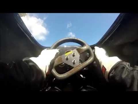 Formula Vee cockpit onboard