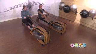 Courtenay DeHoff tries rowing at a trendy new rowing studio
