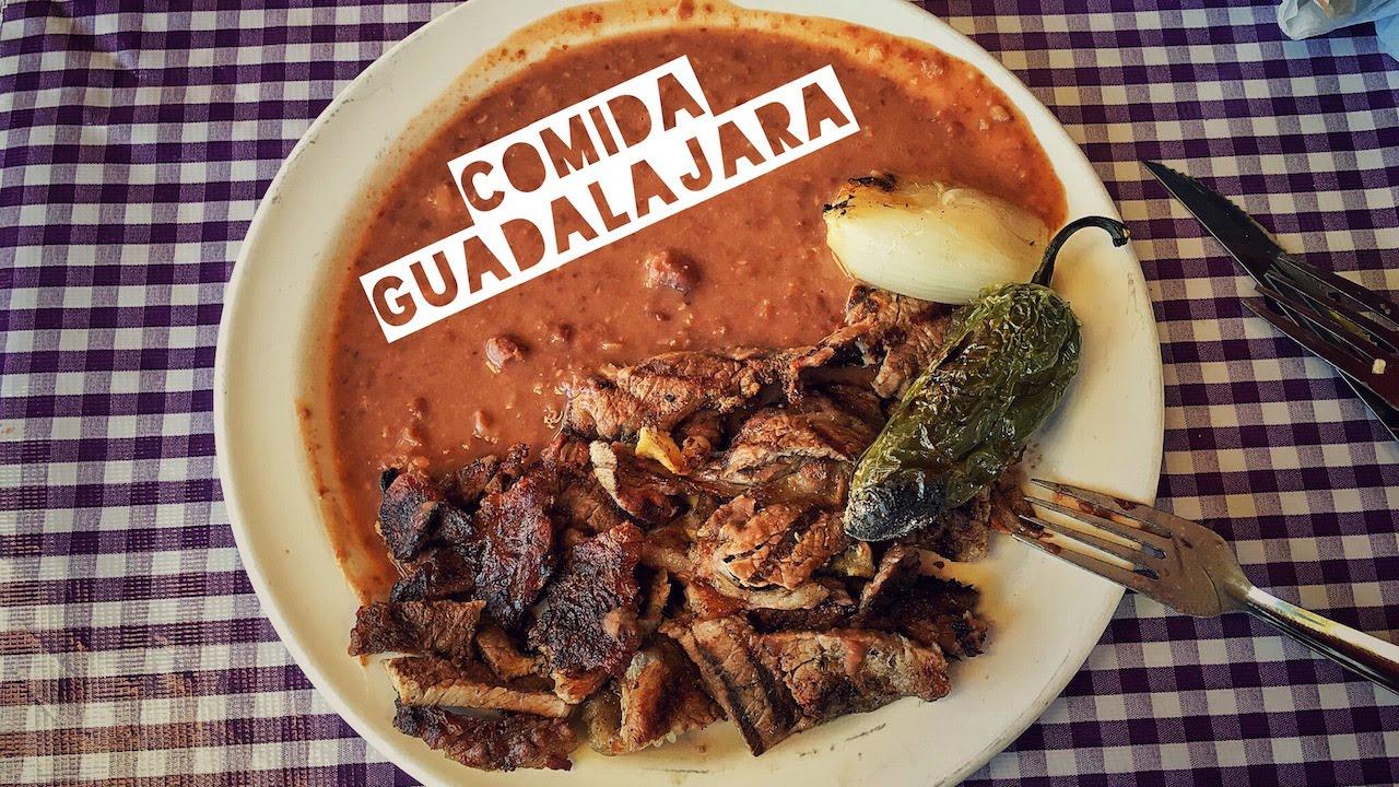 Donde comer Comida tpica mexicana en Guadalajara  YouTube