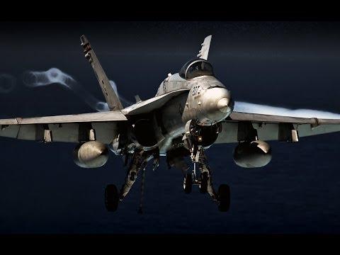 Arma 3 F/A-18 Super Hornet - Dzień z życia pilota ;)  [PL]