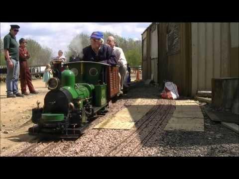 (HD) Leighton Buzzard Minature Railway (Darjeeling Steam), 06/05/13.