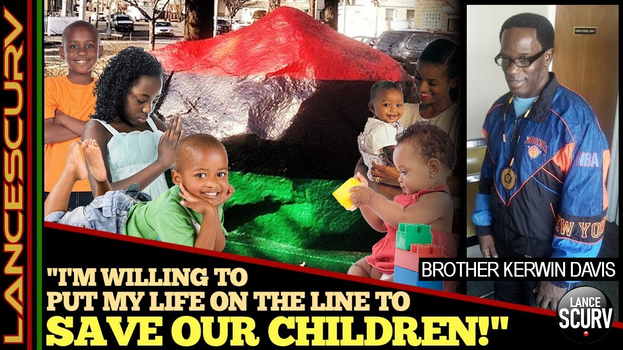 """I'M WILLING TO PUT MY LIFE ON THE LINE TO SAVE OUR CHILDREN!"" - The LanceScurv Show"