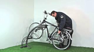 FalcoIon fietsenrek met oplaadpunt voor elektrische fiets