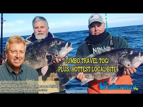 January 30, 2020 New Jersey/Delaware Bay Fishing Report With Jim Hutchinson, Jr.