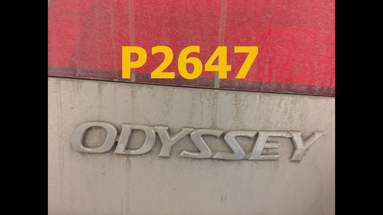 honda odyssey code p2647 honda crv code p2647 p2646
