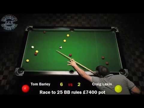 Tom Barley vs Craig Lakin