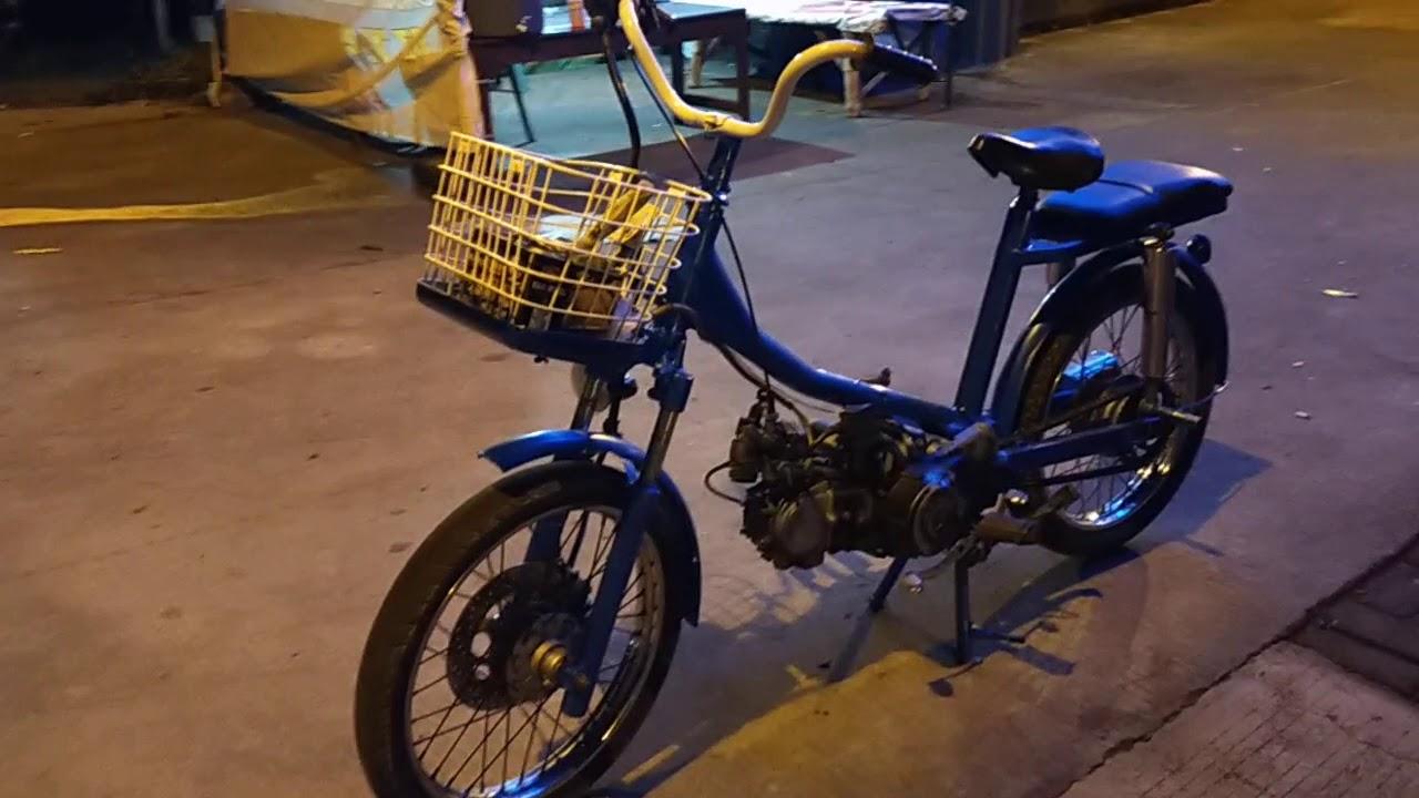 Motor Modif Sepeda Mini Youtube