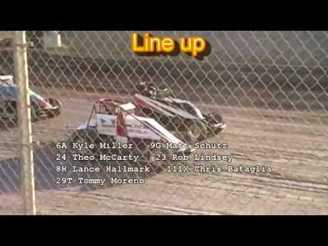 8 6 16 Willamette Speedway Wingless Sprint Series Dash and Heats