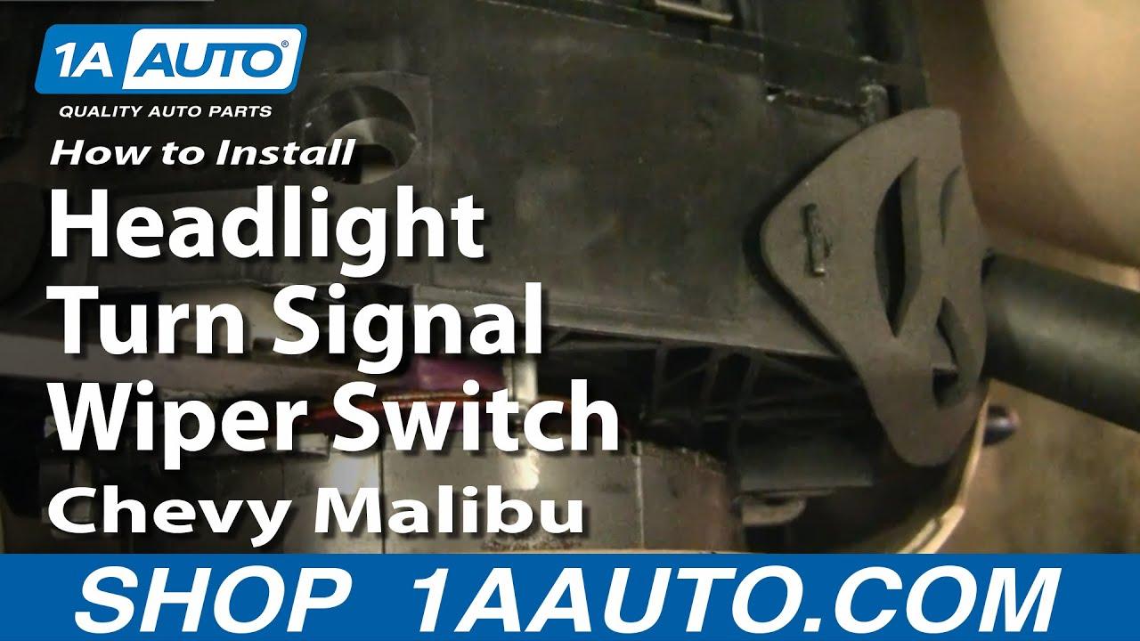 1997 Dodge Dakota Wiring Diagram How To Install Replace Headlight Turn Signal Wiper Switch