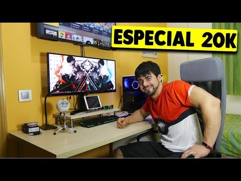 ESPECIAL 20.000 SUSCRIPTORES | Mi PC SETUP y ROOM TOUR 💪💪