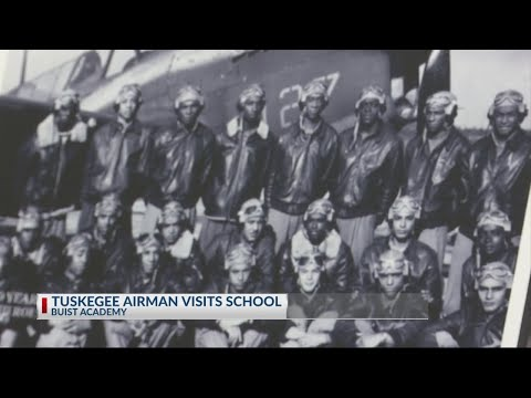 Tuskegee Airmen Assembly at Buist Academy