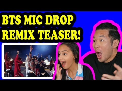 BTS 방탄소년단 MIC Drop Steve Aoki Remix  Teaser REACTION!!!