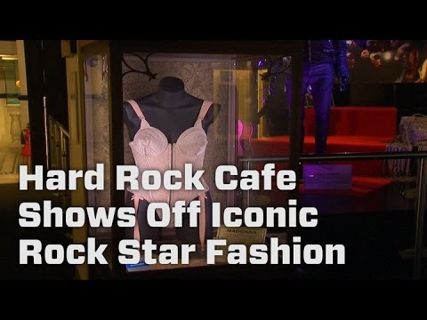 Hard Rock Cafe Shows Off Iconic Rock Star Fashion