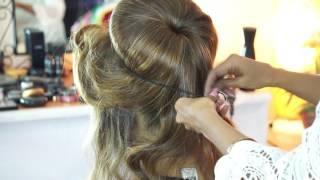 High Fashion Bun | Perfect  High - Party Look | Best of Rebbecca