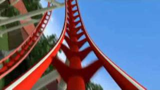 Hollywood Rip Ride Rockit coaster partial POV from Universal Studios