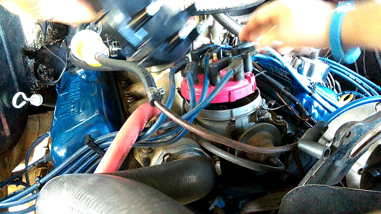 how to replace distributor cap and rotor 78 ford f100 [ 1280 x 720 Pixel ]