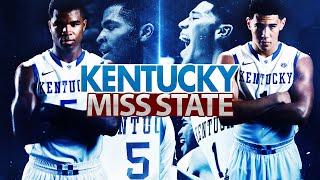 Kentucky Wildcats TV: Kentucky 74 Miss. State 56
