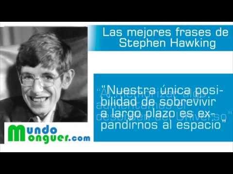 Las mejores frases de Stephen Hawking - YouTube