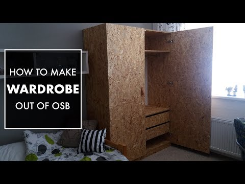 Making A Wardrobe from OSB // Woodworking // My Cellar Workshop
