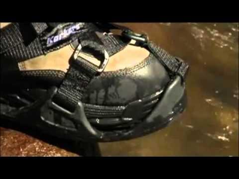 68fc57be2 Korkers RockTrax Fishing Cleats - YouTube