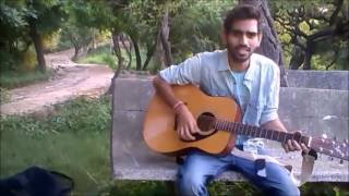 Bulleya - Unplugged Acoustic  Cover Guitar Single - AE dil Hai Mushkil - pritam,ranbir,