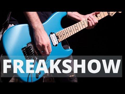 Charvel Pro-Mod San Dimas 1 HH FR - Matte Blue Frost - guitar playthrough - Kristina Schiano