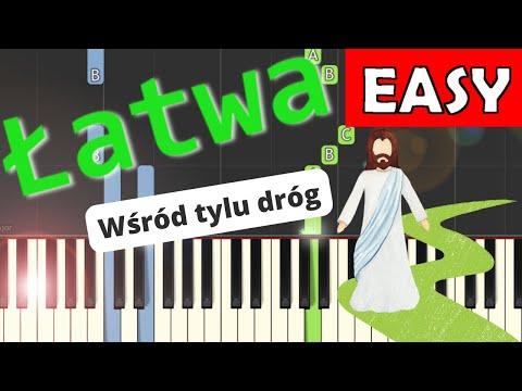 🎹 Wśród tylu dróg - Piano Tutorial (łatwa wersja) 🎹