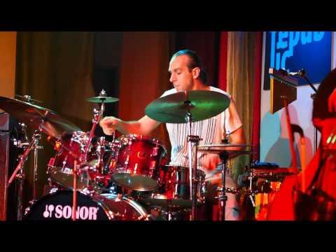 Awesome, impressive drum solo by Jiří Stivín junior from The Hammond Glory jazz band