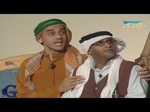 فصلة خالد العجيرب و خالد البريكي على طارق العلي