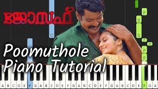 Poomuthole Piano Tutorial Notes & MIDI | Jospeh | Malayalam Song