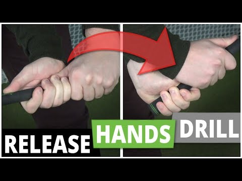 Releasing the Golf Club: Proper Hand Release Drill (Golf Tip)