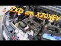 Zylinderkopfdichtung wechsel / reparieren an einem X20XEV Opel Vectra B