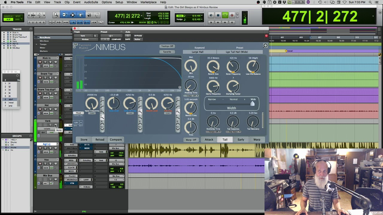 Exponential Audio - NIMBUS & R4 Reverb Plugins Review with Lij Shaw
