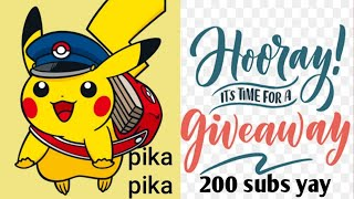 Package from the pokemon center + two notorious pops + 200 subscribe giveaway
