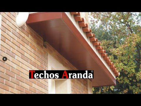 Techos de aluminio para exteriores - Techos para exteriores ...